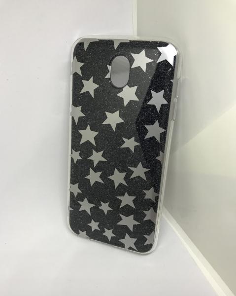 Husa Stars Black Samsung Galaxy J7 2017 0