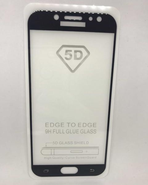 Folie de sticla 5D Black Samsung J7 2017 0