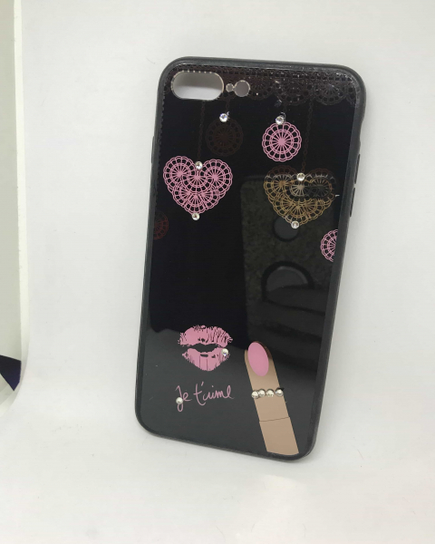 Husa Je T'aime iPhone 7 Plus / iPhone 8 Plus 0
