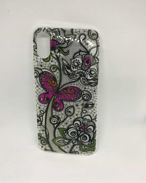 Husa Lace Butterfly iPhone X / XS [0]