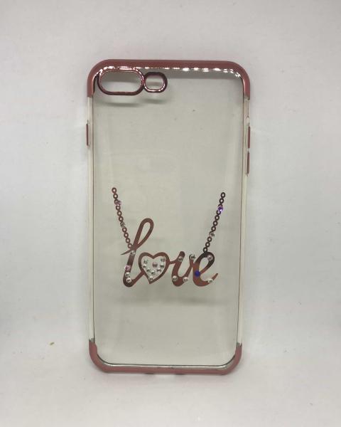 Husa Love Rhinestones iPhone 7 Plus / iPhone 8 Plus 0