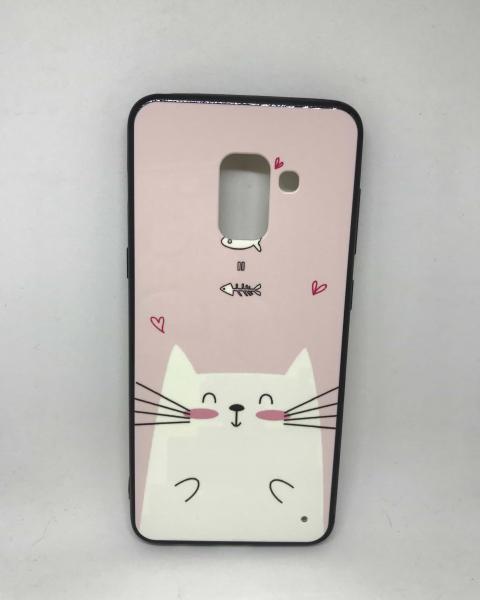 Husa Loving Cat Samsung Galaxy A8 2018 [0]