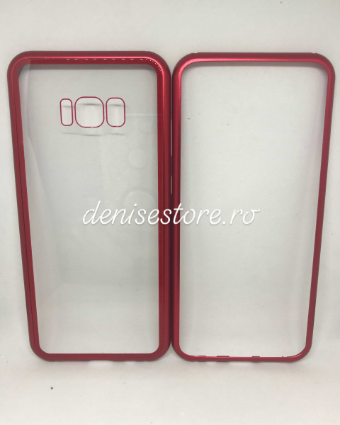 Husa 360 Inchidere Magnetica Red Samsung Galaxy S8 Plus 1