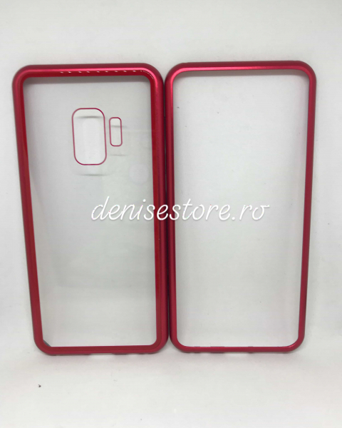 Husa 360 Inchidere Magnetica Red Samsung Galaxy S9 1