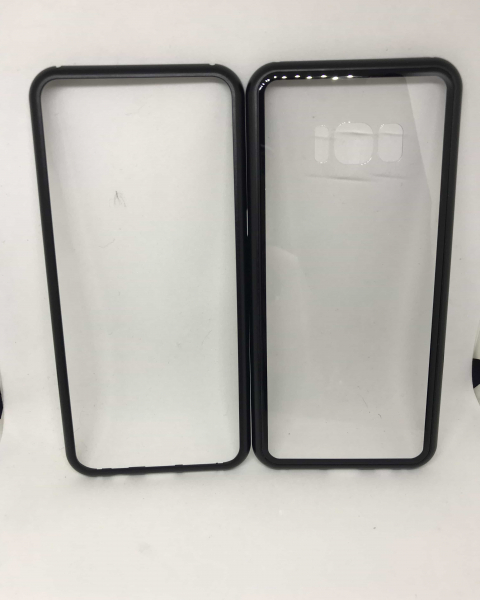 Husa 360 Inchidere Magnetica Black Samsung Galaxy S8 1