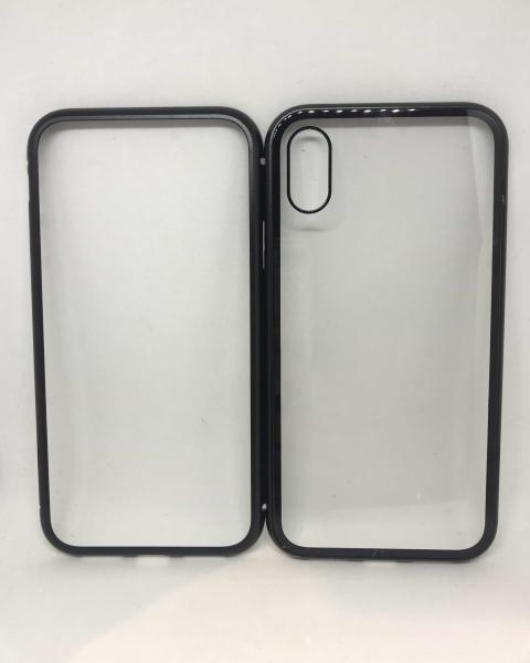 Husa 360 Inchidere Magnetica Black iPhone X / XS 1