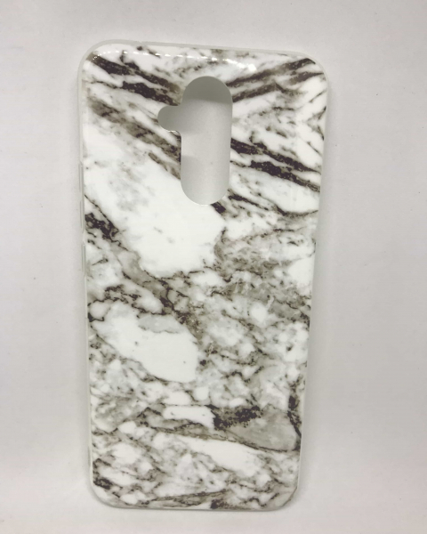 Husa Marble White & Gray Huawei Mate 20 Lite 0