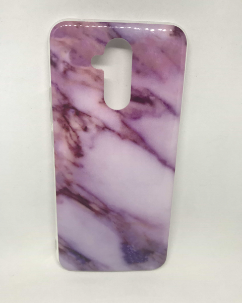 Husa Marble Purple Huawei Mate 20 Lite 0