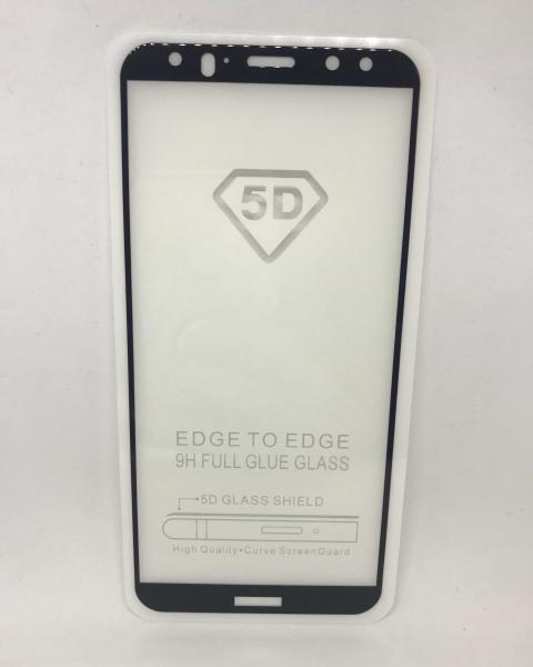 Folie de sticla 5D Black Huawei Mate 10 Lite 0