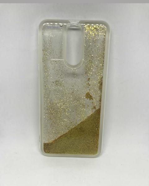 Husa Sclipici Lichid Gold Huawei Mate 10 Lite 0