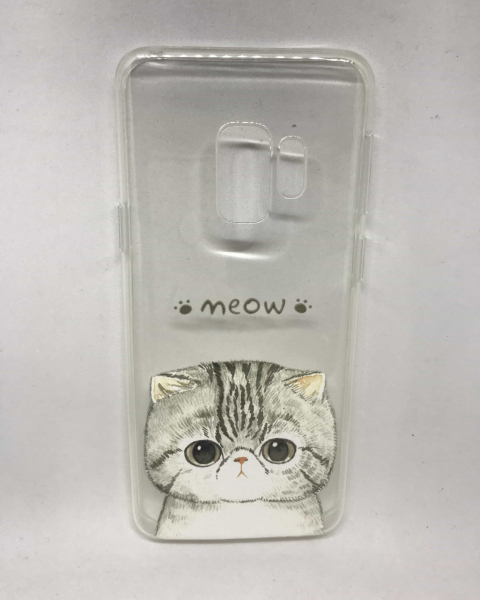 Husa Meow Cat Samsung Galaxy S9 0
