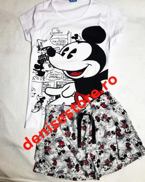 Pijama Mickey Gray & White 0