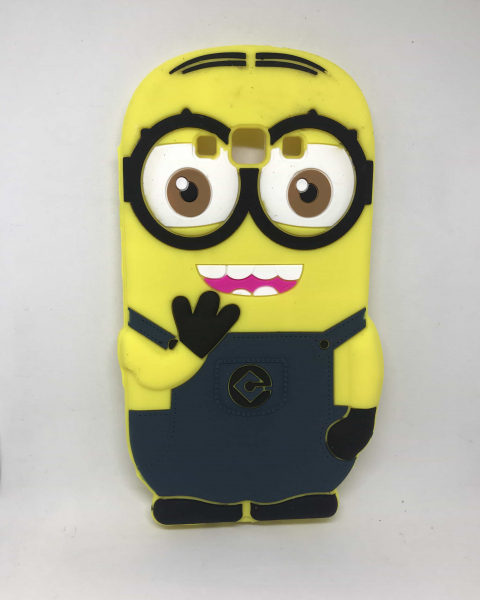 Husa Minion Black Samsung Galaxy A7 2015 0
