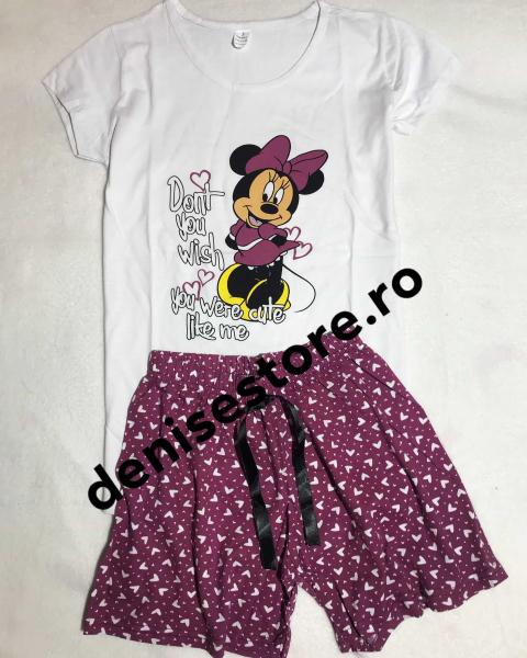 Pijama Minnie Purple 0
