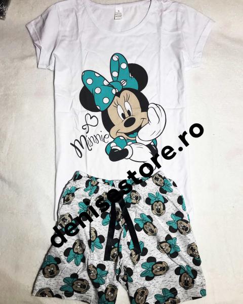 Pijama Minnie Turcoaz 0