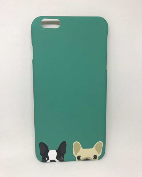 Husa Dogs Mint iPhone 6 Plus/ 6s Plus 0