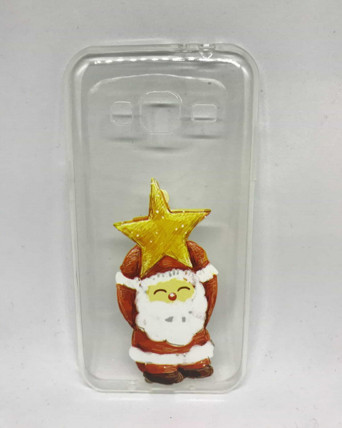 Husa Santa Star Samsung Galaxy J3 2016 0