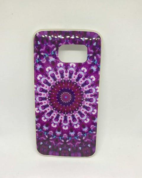 Husa Purple Mandala Samsung Galaxy S6 Edge 0
