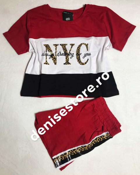 Compleu NYC Red 0