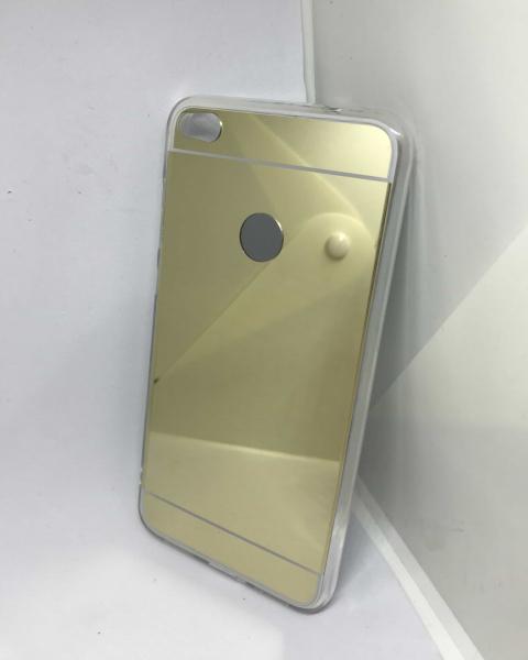 Husa Mirror Gold Huawei P8 Lite 2017/P9 Lite 2017 0