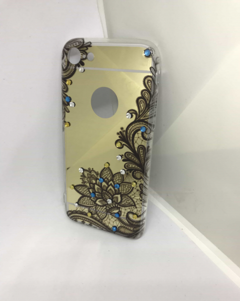 Husa Mirror Gold Henna iPhone 7 / iPhone 8 0