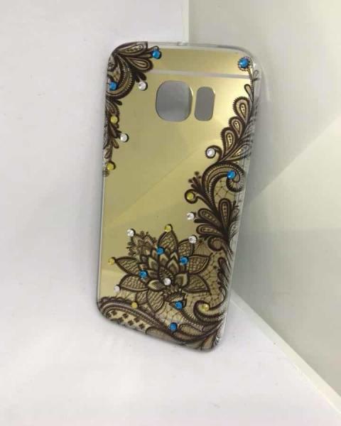 Husa Mirror Henna Samsung Galaxy S6 Edge 0
