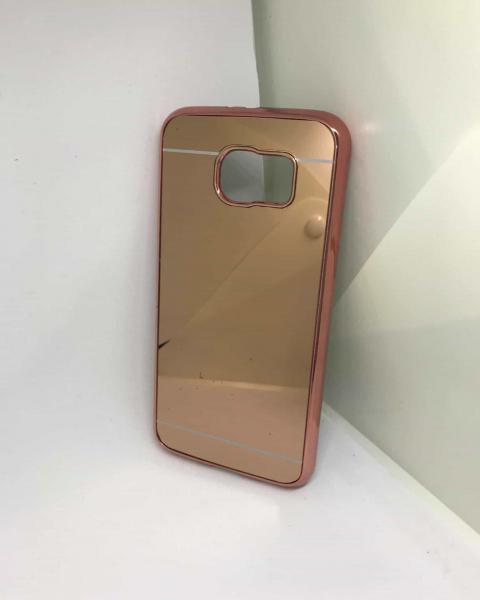 Husa Mirror Rose Samsung Galaxy S6 0