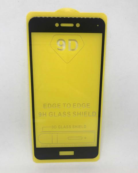 Folie de sticla 5D Black Huawei P8 Lite 2017 / P9 Lite 2017 0