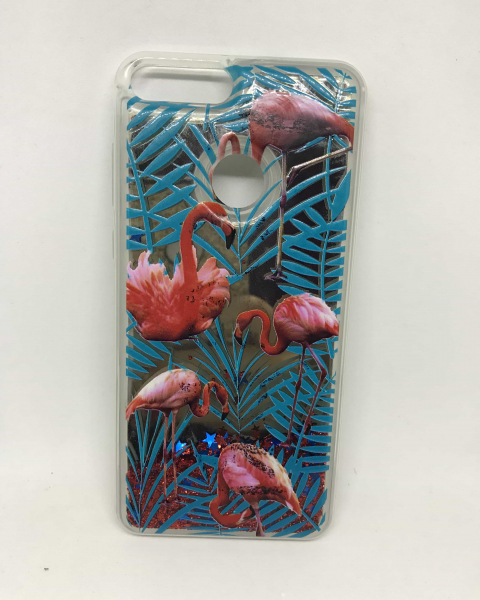 Husa Sclipici Lichid Flamingo Huawei P Smart 0