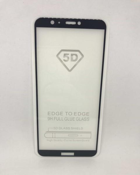 Folie de sticla 5D Black Huawei P Smart 0