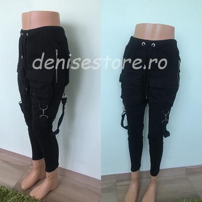 Pantaloni Vgb Black 0