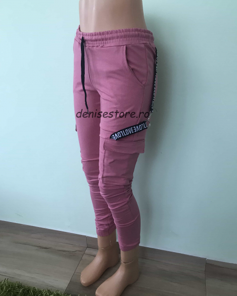 Pantaloni Love Pink 0