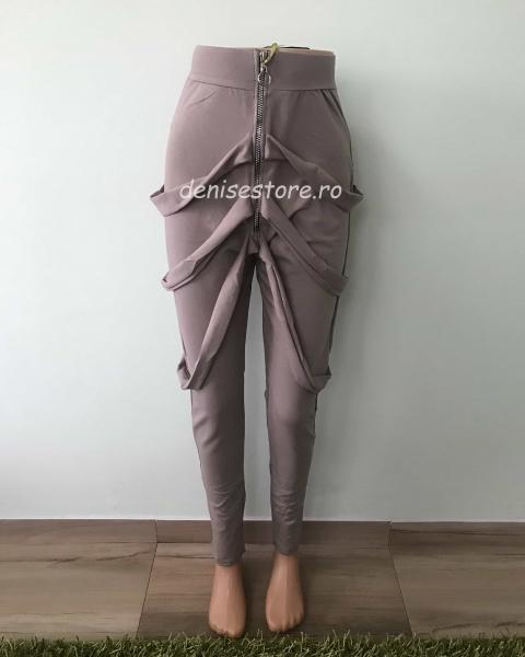 Pantaloni Modern Bej [0]