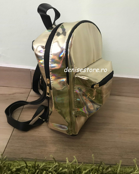 Rucsac Holographic Gold 0