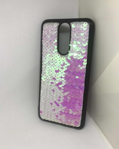 Husa Paiete Reversibile Pink Huawei Mate 10 Lite [1]