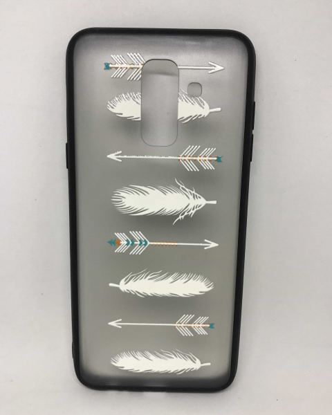 Husa Feathers Samsung Galaxy A6 Plus 2018 0