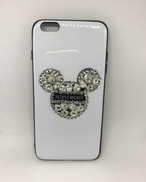 Husa Rhinestones White iPhone 6 Plus/ 6s Plus [0]