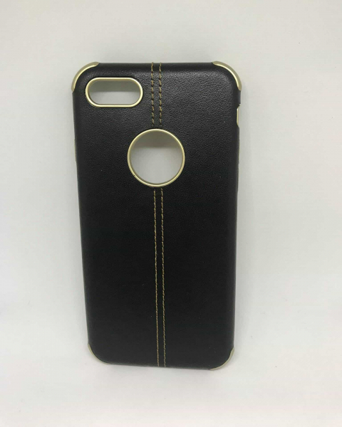 Husa Black Leather iPhone 7 / iPhone 8 0