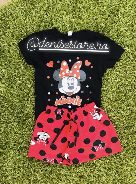 Pijama Mouse in Love Black [0]