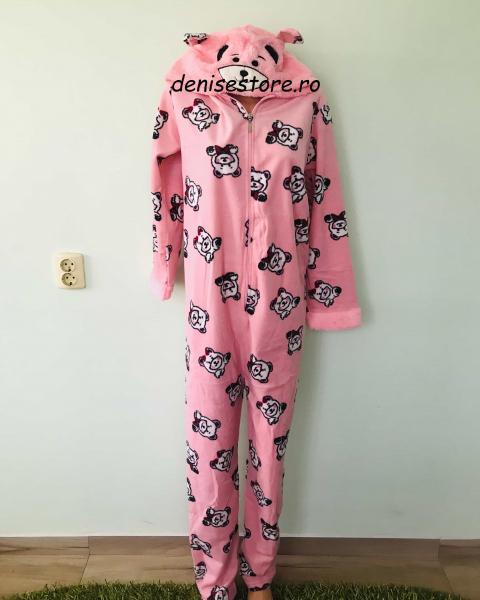 Pijama Salopeta Pink Bear 0