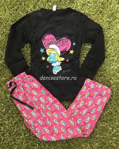 Pijama Smurf Black [0]