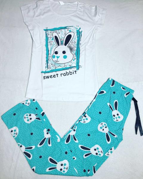 Pijama Rabbit Blue 0