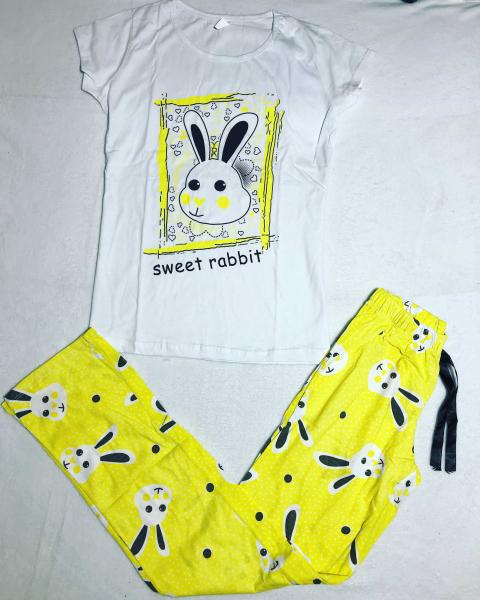 Pijama Rabbit Yellow 0