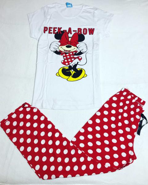 Pijama Minnie Peek 0