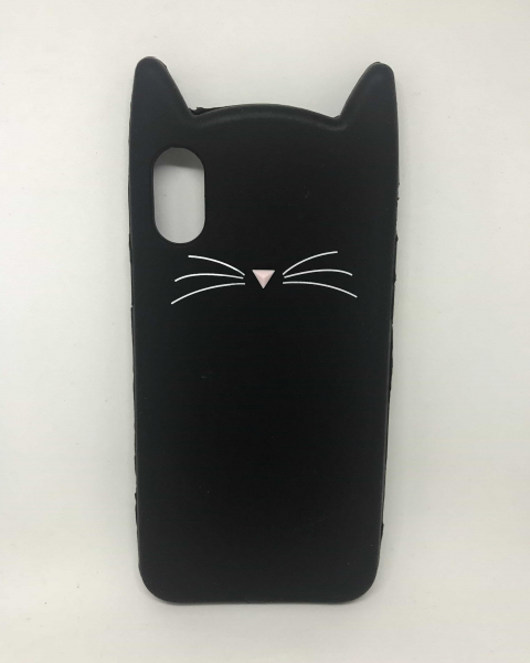 Husa 3D Cat Black iPhone X / XS 0