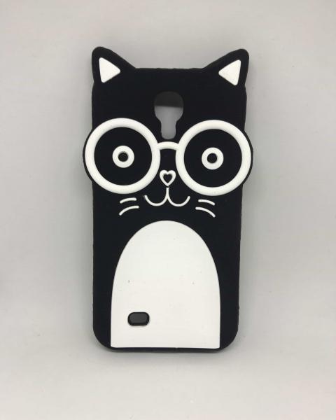 Husa 3D Black Cat Samsung Galaxy S4 [0]