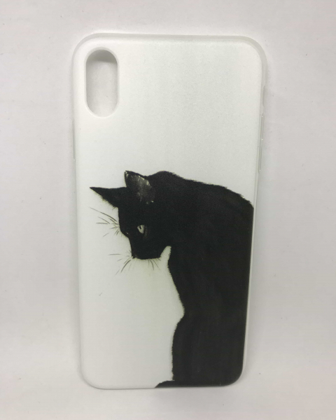 Husa Black Cat iPhone XS Max 0