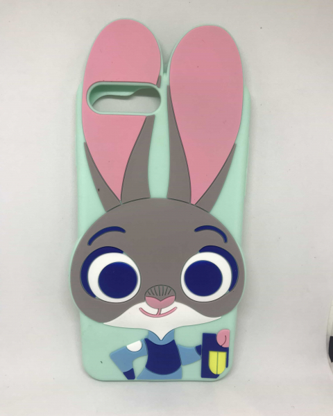 Husa 3D Rabbit iPhone 7 Plus / iPhone 8 Plus 0