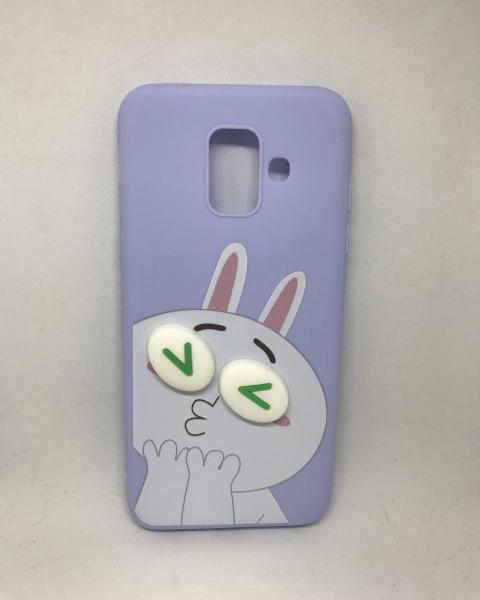 Husa Rabbit Kiss Samsung Galaxy A6 2018 0
