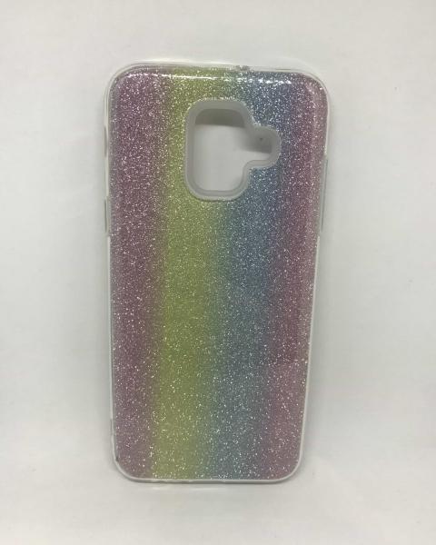 Husa Glitter Rainbow Samsung Galaxy A6 2018 0